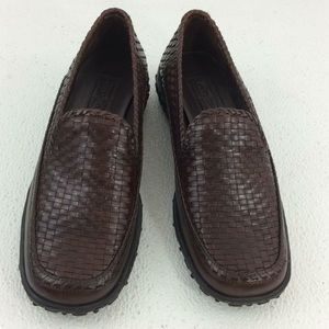Cole Haan Country Woven Stitched Casual Loafers